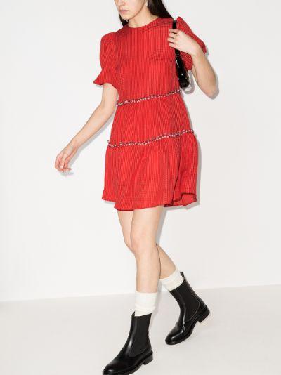 smith seersucker mini dress