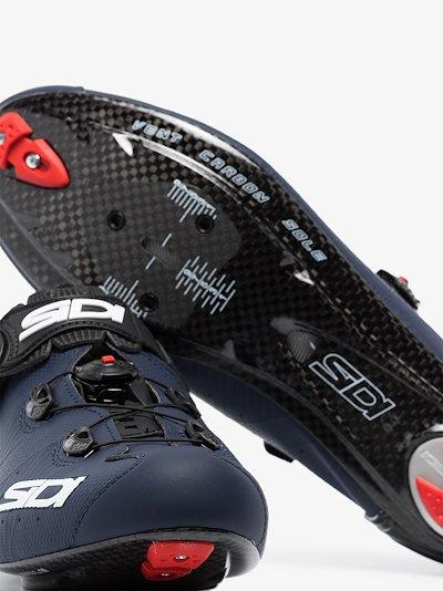 blue Wire 2 Carbon Matt Cycling Shoes