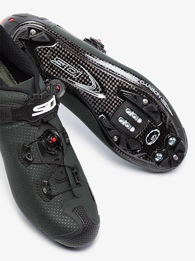Green Jarin MTB cycling shoes