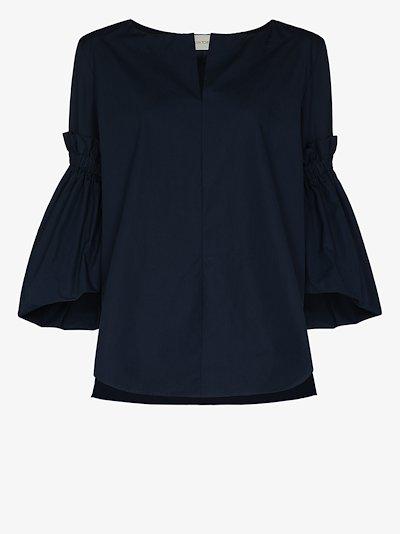 Lucaya bell sleeve blouse