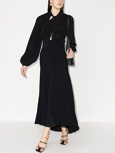 Maurine cutout maxi dress