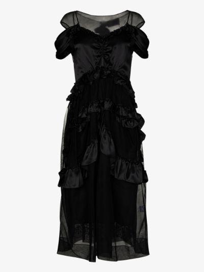 Skeleton midi dress