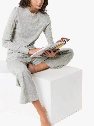 long sleeve pima cotton T-shirt