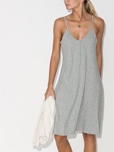 Odelle Pima cotton slip dress
