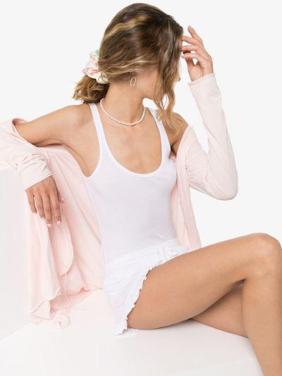Raisa ribbed pima cotton tank top