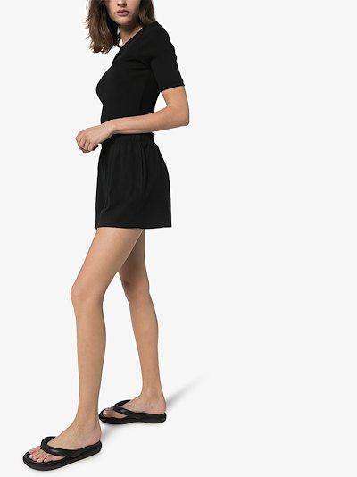 Sydney elasticated waist shorts