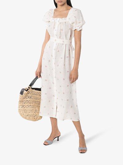 Brigitte floral maxi dress