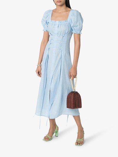 Marquise corset midi dress