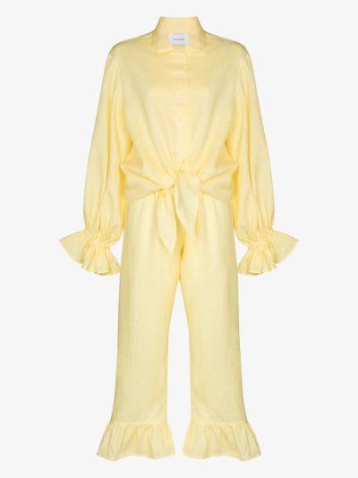 Rumba linen pyjamas