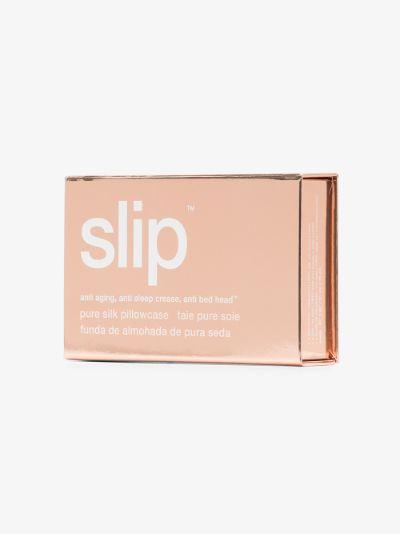 Pink Queen silk pillow case