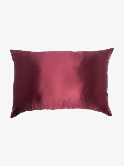 Red Queen silk pillow case