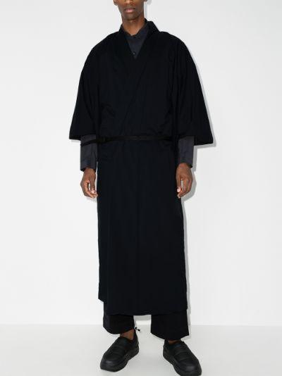 black 2L Octa kimono
