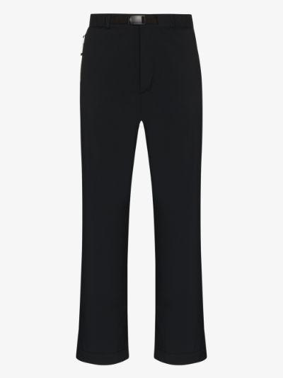 black 2L Octa performance trousers