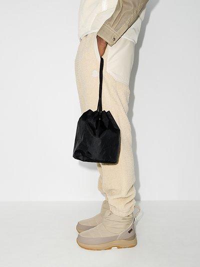 black X-Pac nylon Kinchaku bag