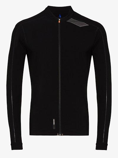 Black Elite Tempo 2.0 running performance jacket