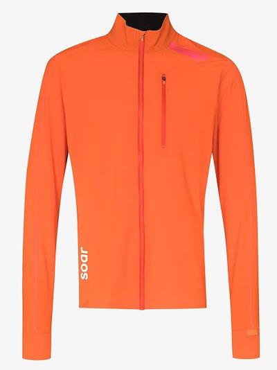 orange all weather 2.0 windbreaker jacket