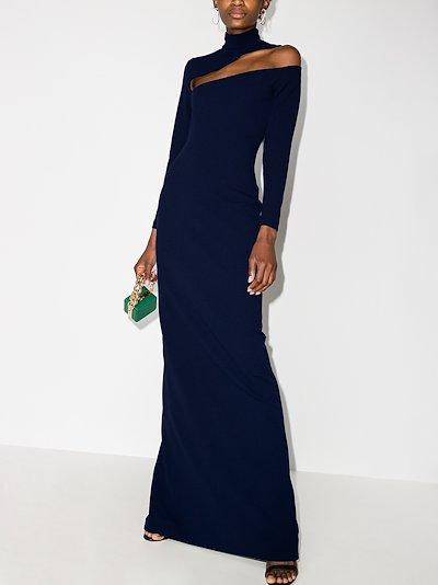 Ares cutout maxi dress