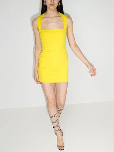 Cora fitted mini dress