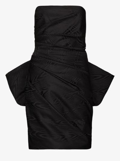 Posie ruffed mini dress