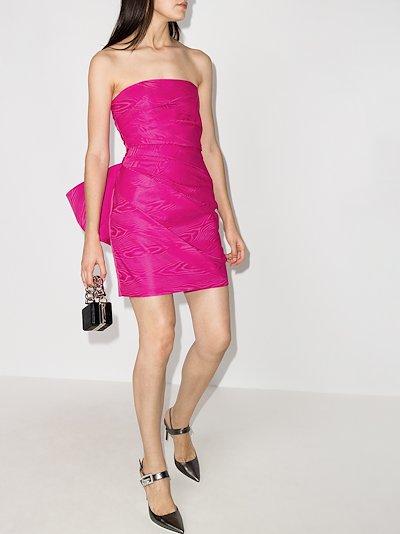 Posie ruffled mini dress