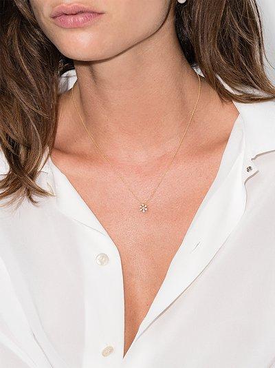 18K yellow gold Fiore diamond necklace