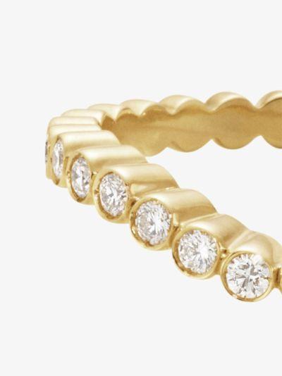 18K yellow gold Grace Ensemble diamond ring