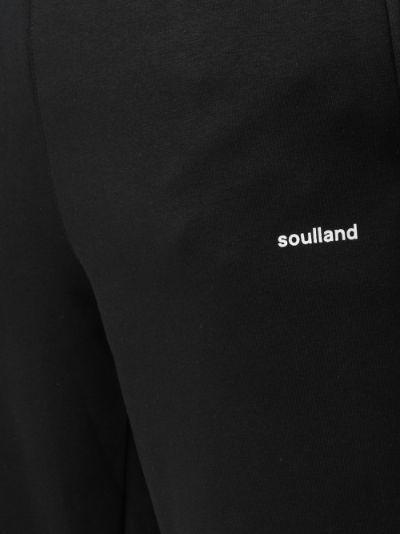 Elijah logo print sweatpants