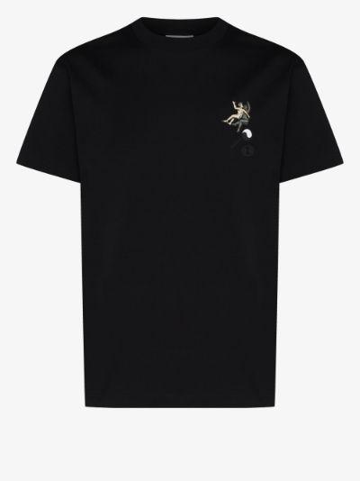 Zodiac logo print cotton T-shirt