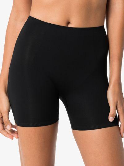 Black Thinstincts mid-thigh shorts