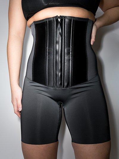 Black Under Sculpture waist cincher shorts