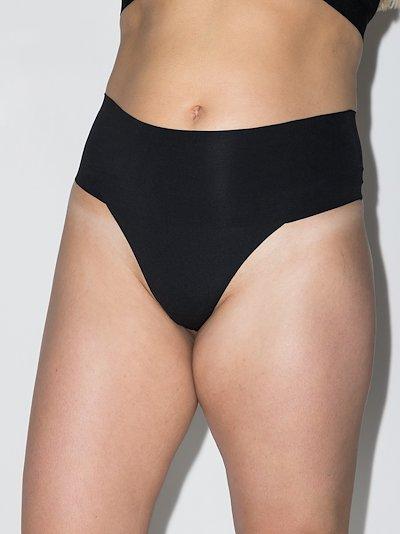 Black Undie-tectable thong