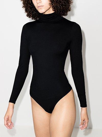 Suit Yourself turtleneck bodysuit