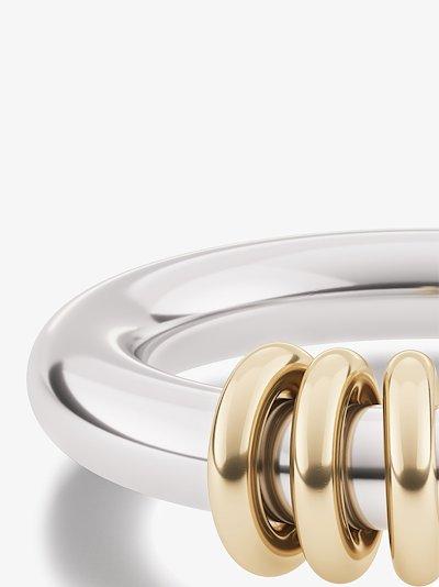 sterling silver Kane linked ring