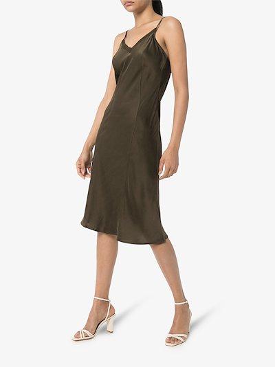 Anouk silk slip dress