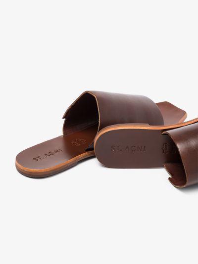brown Bindi leather sandals