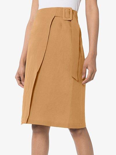 Cella wrap skirt
