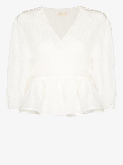 Joji wrap blouse