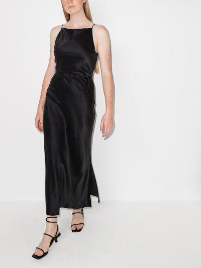 Jules silk maxi dress