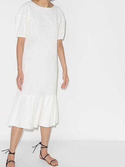 Kazumi open back midi dress