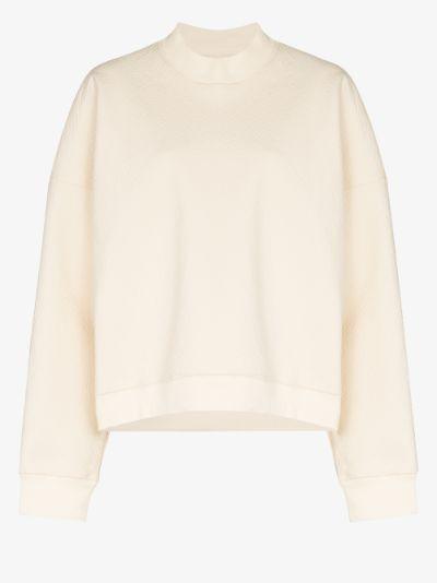 lari waffle sweatshirt