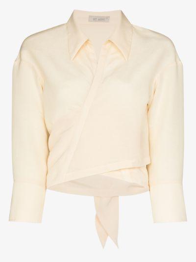 Mia Tie Front Shirt