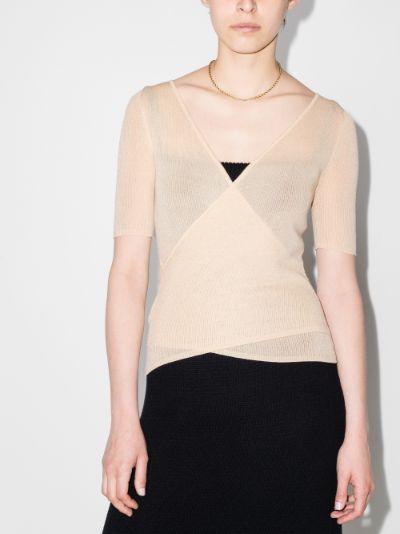 otis reversible knitted top