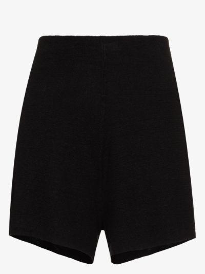Spencer linen knit shorts
