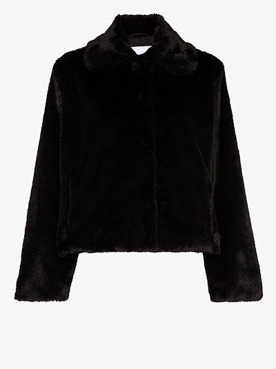 Marcella faux fur jacket