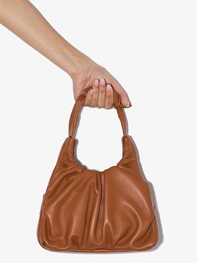 brown Palm leather shoulder bag