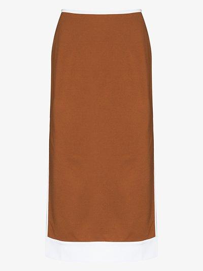 Desmond high waist midi skirt