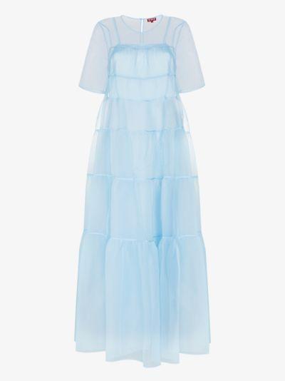 Hyacinth tiered dress