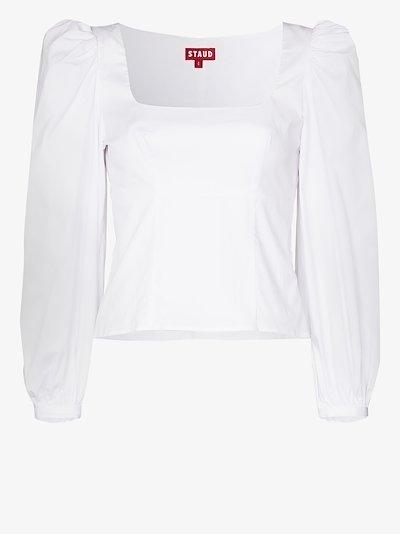 Lana puff sleeve blouse