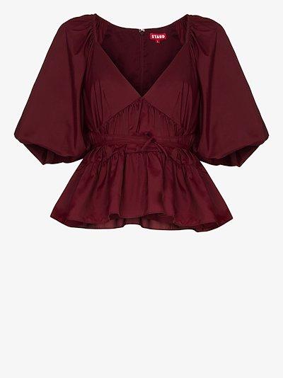 Lucy peplum blouse