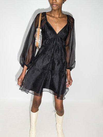 Meadow sheer organza dress